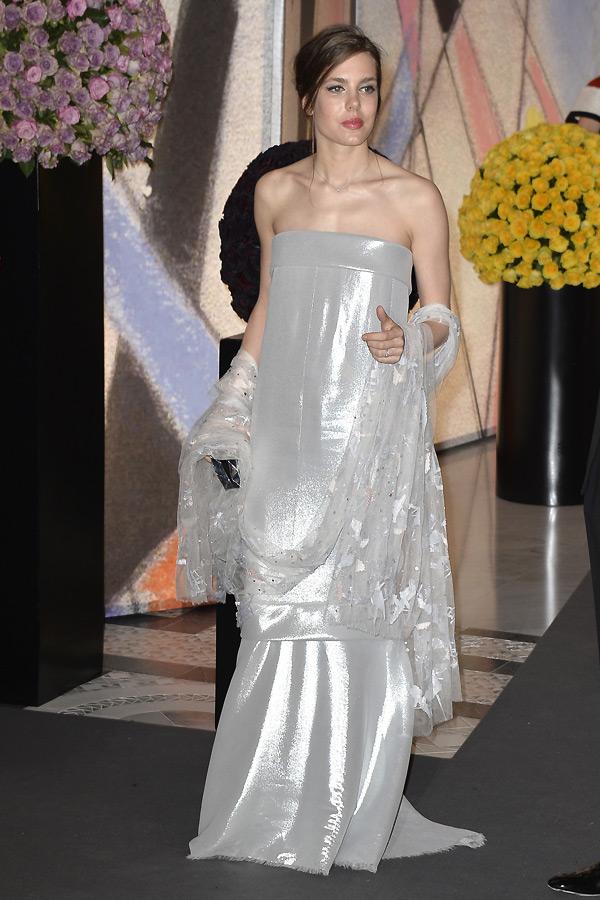 Charlotte Casiraghi portait une robe bustier signée Chanel