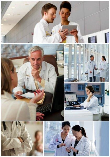 Des médecins procure un second avis de professionnel