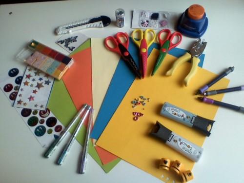 kit et materiel scrapbooking pas cher