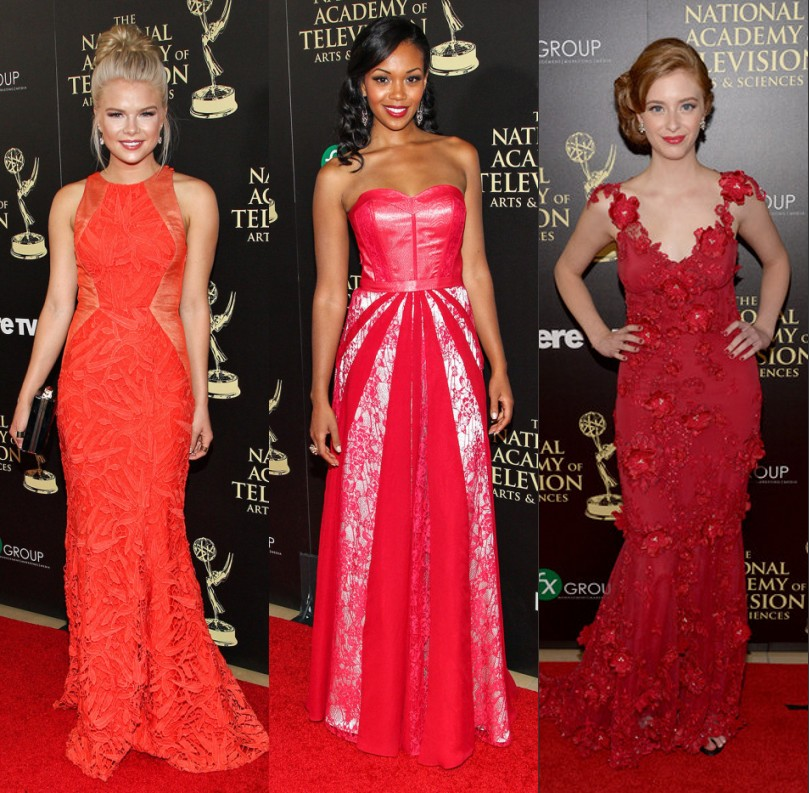 Les plus belle robe rouge