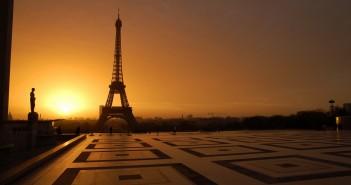 Le parvis du Trocadéro à Paris