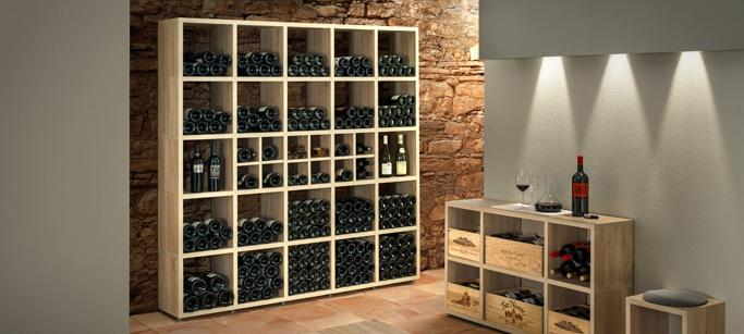 comment am nager une cave vin chez soi. Black Bedroom Furniture Sets. Home Design Ideas